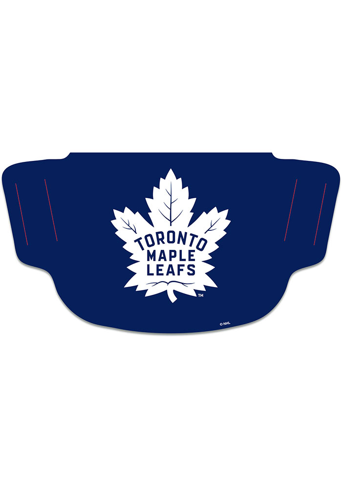 Toronto Maple Leafs Team Logo Fan Mask - Blue