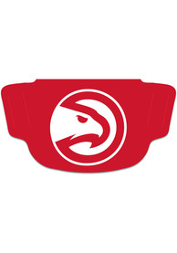Atlanta Hawks Team Logo Fan Mask - Red
