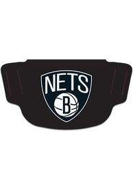 Brooklyn Nets Team Logo Fan Mask - Black