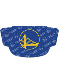 Golden State Warriors Repeat Logo Fan Mask - Blue