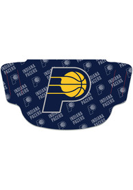 Indiana Pacers Repeat Logo Fan Mask - Navy Blue