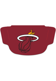 Miami Heat Team Logo Fan Mask - Red