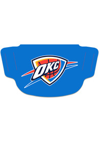 Oklahoma City Thunder Team Logo Fan Mask - Blue