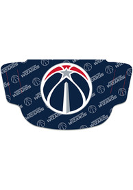 Washington Wizards Repeat Logo Fan Mask - Navy Blue