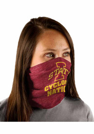 Iowa State Cyclones Heathered Fan Mask - Red