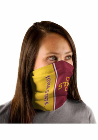 Iowa State Cyclones Split Color Fan Mask - Red