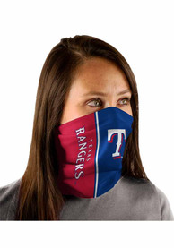Texas Rangers Split Color Fan Mask - Blue