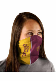 Cleveland Cavaliers Split Color Fan Mask - Maroon