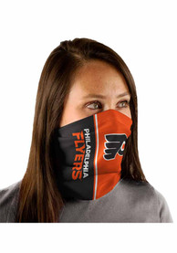 Philadelphia Flyers Split Color Fan Mask - Orange