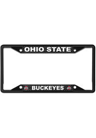 Ohio State Buckeyes Carbon Fiber License Frame
