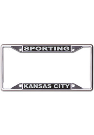 Sporting Kansas City Black and Silver License Frame
