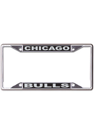 Chicago Bulls Black and Silver License Frame