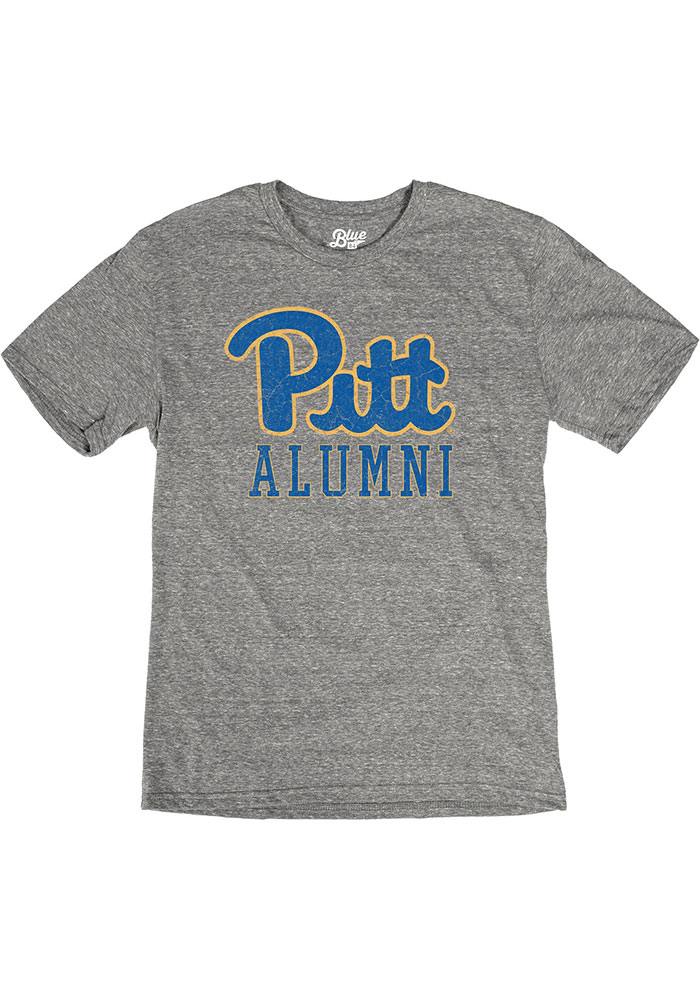 Pitt Panthers Alumni Fashion T Shirt - Grey