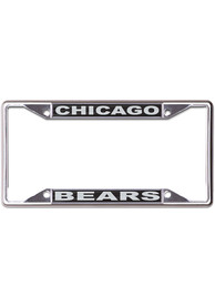 Chicago Bears Black and Silver License Frame