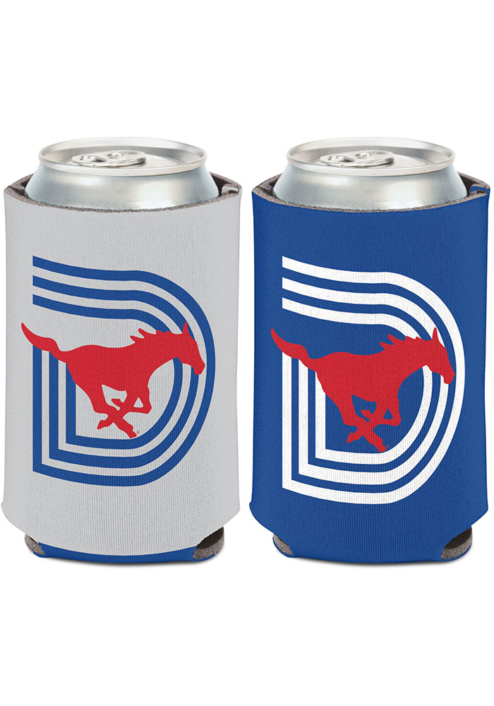 SMU Mustangs Triple D Logo 12oz Coolie