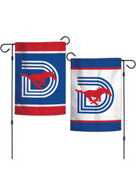 SMU Mustangs Triple D Logo 12x18 inch 2-Sided Garden Flag