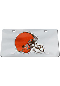 Cleveland Browns Glitter Car Accessory License Plate