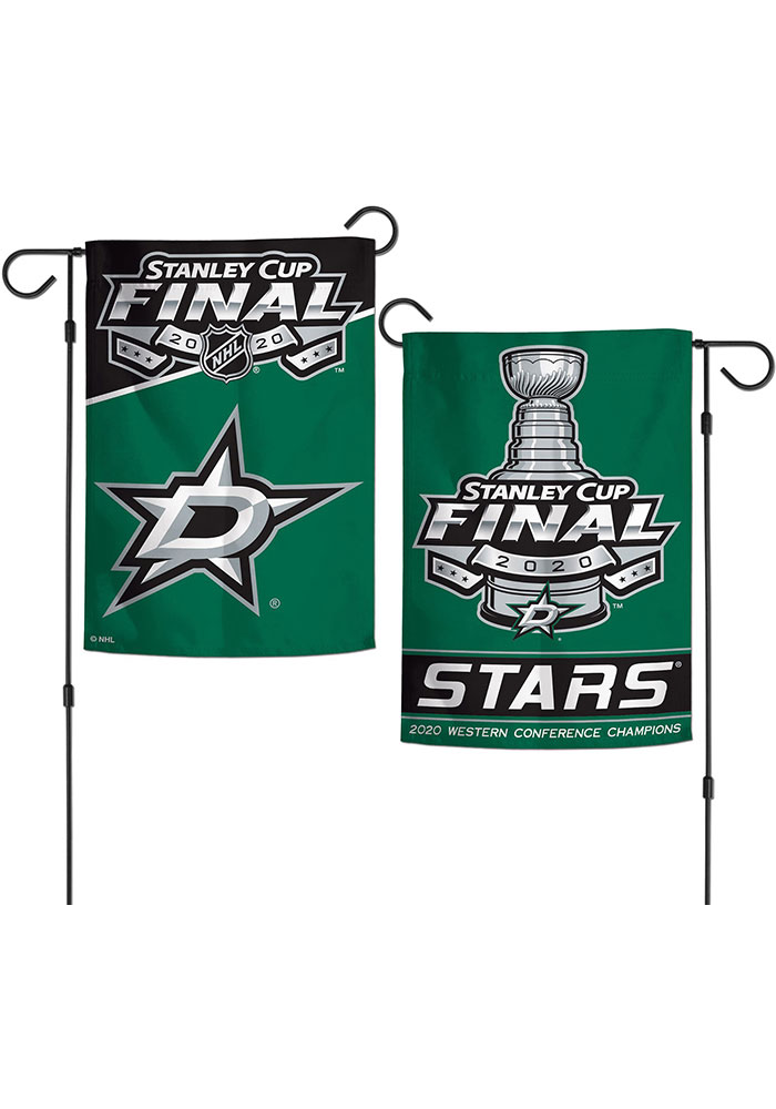 Dallas Stars 2020 Stanley Cup Final Participant 2 Sided Garden Flag - Image 1