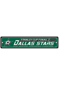 Dallas Stars 2020 Stanley Cup Final Participant 3x5 Sign