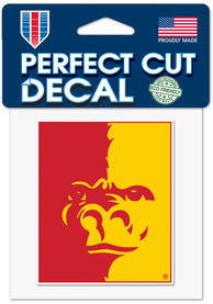 Pitt State Gorillas 4X4 Color Auto Decal - Green