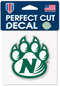 Northwest Missouri State Bearcats 4X4 Color Auto Decal - Red