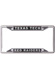 Texas Tech Red Raiders Metallic Black and Silver License Frame