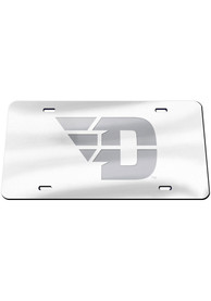 Dayton Flyers Frosted Car Accessory License Plate