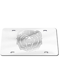 Missouri State Bears Frosted Car Accessory License Plate
