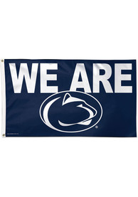 Penn State Nittany Lions 3x5 We Are Blue Silk Screen Grommet Flag
