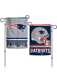 New England Patriots 2 Sided Garden Flag