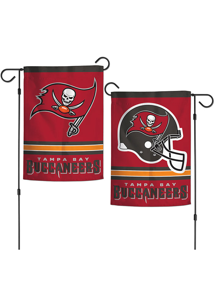 Tampa Bay Buccaneers 2 Sided Garden Flag