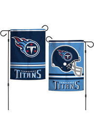 Tennessee Titans 2 Sided Garden Flag