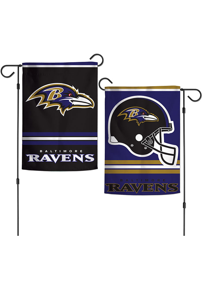 Baltimore Ravens 2 Sided Garden Flag