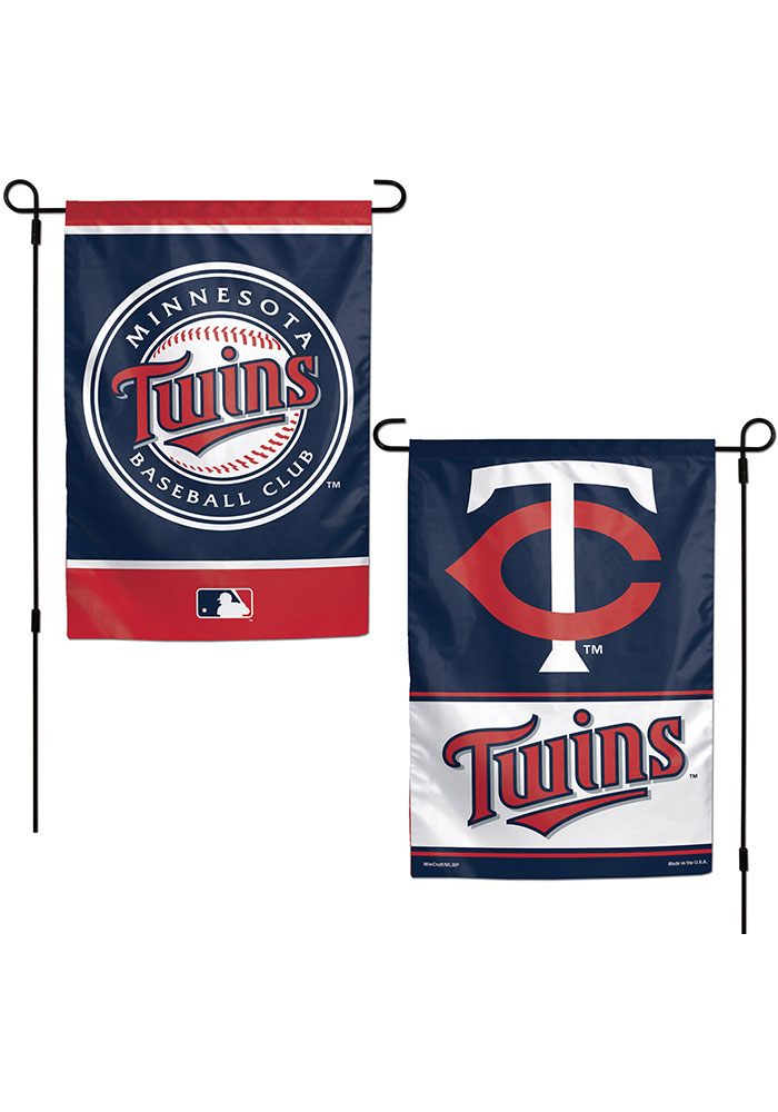 Minnesota Twins 2 Sided Team Logo Garden Flag