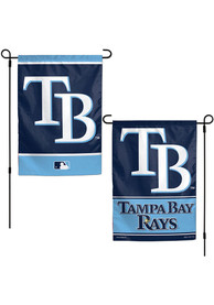 Tampa Bay Rays 2 Sided Team Logo Garden Flag