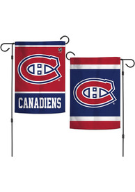 Montreal Canadiens 2 Sided Team Logo Garden Flag