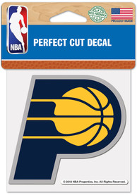 Indiana Pacers 4x4 inch Auto Decal - Blue