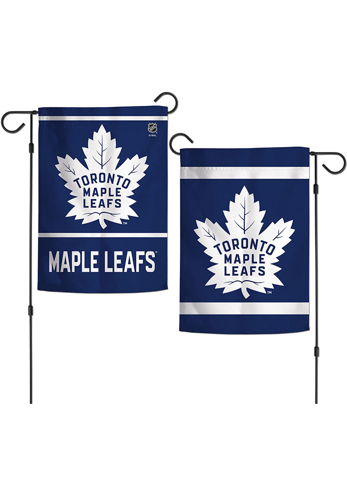Toronto Maple Leafs 2 Sided Team Logo Garden Flag - Image 1