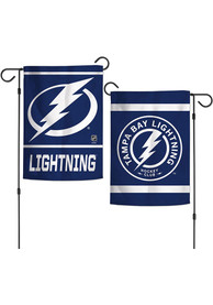 Tampa Bay Lightning 2 Sided Team Logo Garden Flag