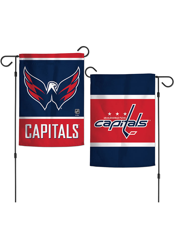 Washington Capitals 2 Sided Team Logo Garden Flag