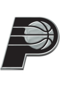 Indiana Pacers Chrome Car Emblem - Silver