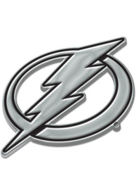 Tampa Bay Lightning Chrome Car Emblem - Silver