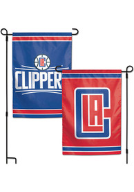 Los Angeles Clippers 2 Sided Team Logo Garden Flag