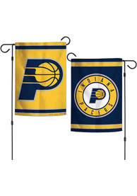 Indiana Pacers 2 Sided Team Logo Garden Flag