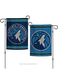 Minnesota Timberwolves 2 Sided Team Logo Garden Flag
