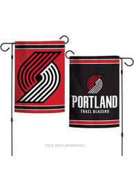 Portland Trail Blazers 2 Sided Team Logo Garden Flag