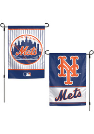 New York Mets 2 sided team logo Garden Flag