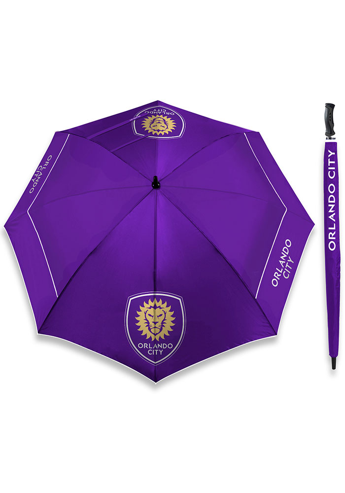 Orlando City SC 62 Inch Golf Umbrella - Image 1