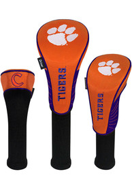 Clemson Tigers 3 Pack Golf Headcover