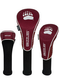 Montana Grizzlies 3 Pack Golf Headcover